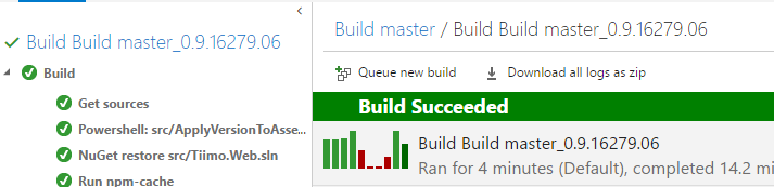 saved-build-time